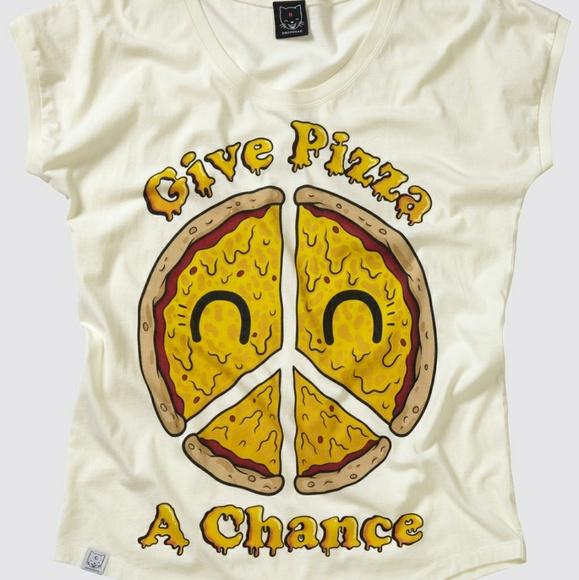 d15f86ff Drop Dead Tops | Give Pizza A Chance Tee | Poshmark